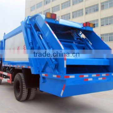 dongfeng big compressing garbage truck for sales
