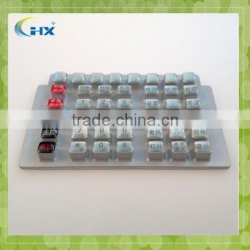 High quality silicone button