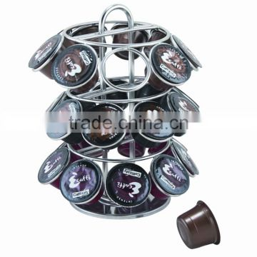 27PCS K-CUP ROTATING COFFEE CAPSULE HOLDER