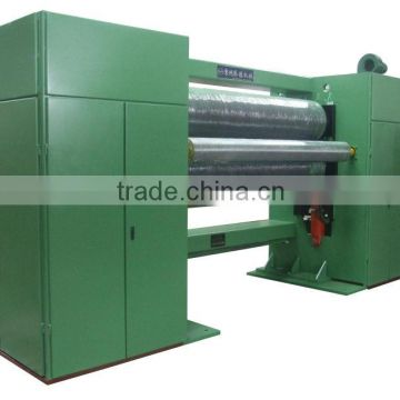 three rollers pp spunbond nonwoven fabric embossing machine(calender)