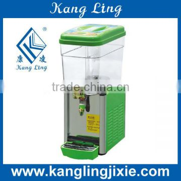 18L Cold Drink Dispenser with white stirring paddle