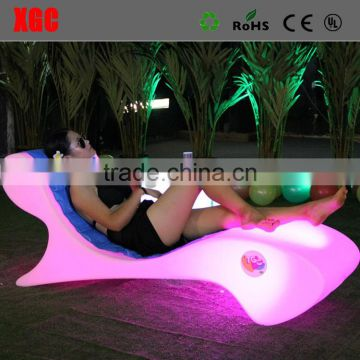 GF116 white plastic sunbed furniture chairs pool lounge chairs