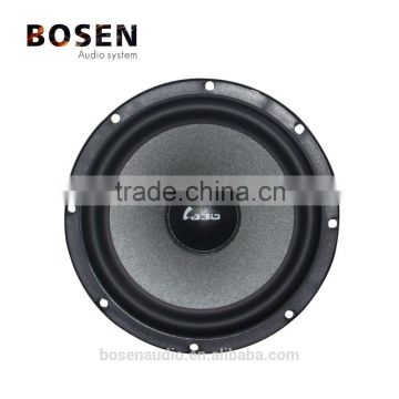 6.5 inch component car speaker with paper carcass cone