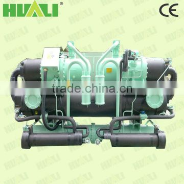 Water Cooled Industrial Water Chiller With Heat Recovery Machine