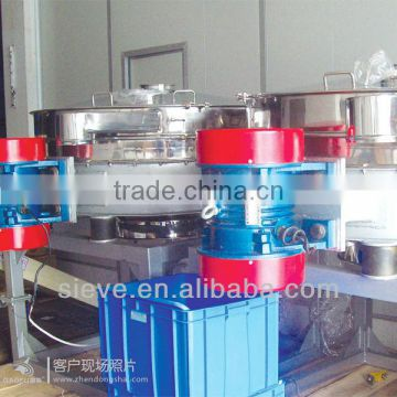 rotary flour sifter machine with mire mesh