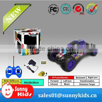 Funny rc monster truck 7ch rc toy rc truck with light music