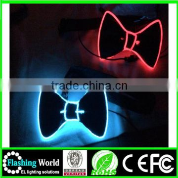 making things convenient for the people aesthetic appearance fashion led bow tie