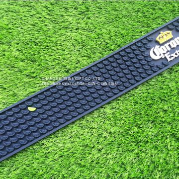 SEDEX factory cheap customized plastic PVC bar runner bar mat