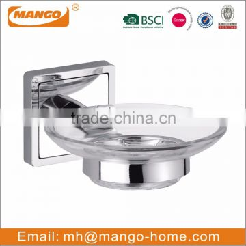 Wall Mounted Chrome Plating Metal Toilet Roll Holder