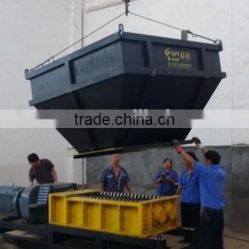 Shredders for living garbage or Municiple Solid Waste( MSW)