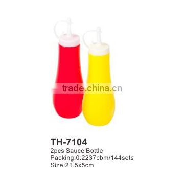 PE 2pcs Sauce Bottle TH-7104