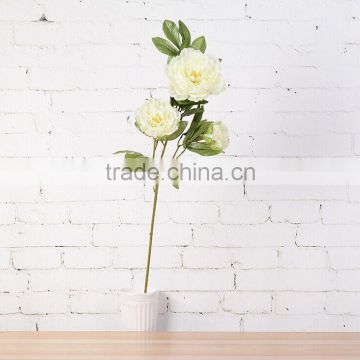 102cm artificial peony flowers,single flowers peony for home and office decoration