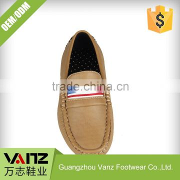 Customized OEM ODM PU Leather Casual Fancy Loafers Casual Shoes