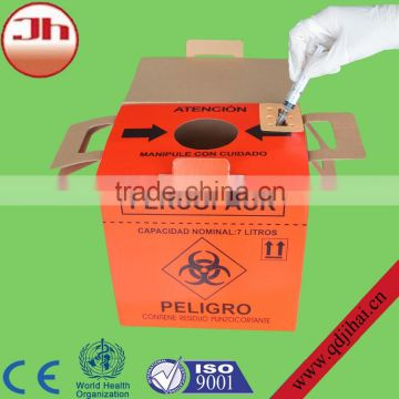 names of surgical instruments carton disposal bin/hospital waste incinerators