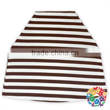 Black Stripe Nursing Cover Shipping Cart Restaurant High Chair Multi Use Baby Car Seat Cover