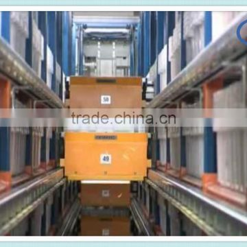 Radio Shuttle cart racking for high density storage