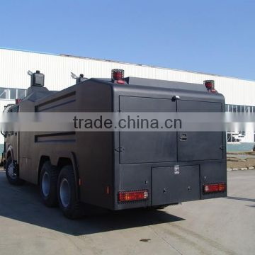 Sinotruk Howo bulletproof Anti Riot Water Cannon Vehicle
