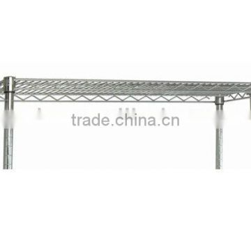 Chrome wire shelving Hang Bars