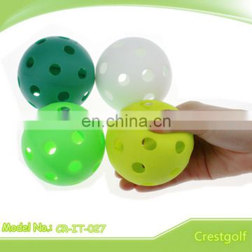 High Quality Durable Hollow ball with holes Golf Practice Ball