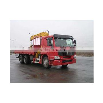 HOWO LORRY TRUCK WITH CRANE 8 Ton