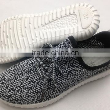2016 factory cheap flyknit hot selling injection sport running shoes                                                                         Quality Choice