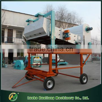 High efficiency automatic movable coffee bean cleaning machinery