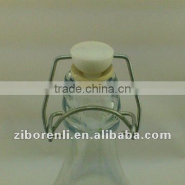 high quality 1000ml glass jar with easy open end