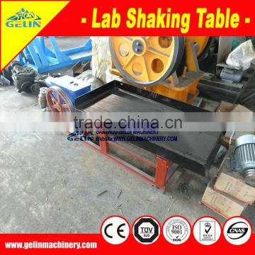 Labs shaking table equipment for mining processing