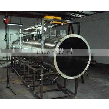 continues microwave Vacuum meat dryer machine