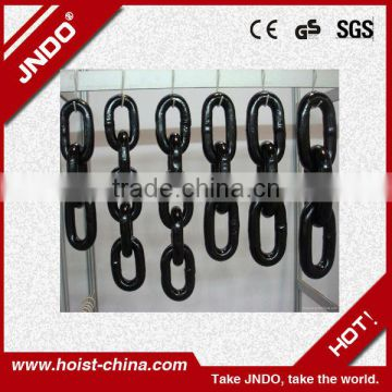 Power Coated Round Link Alloy Steel G80 Chain EN818-2