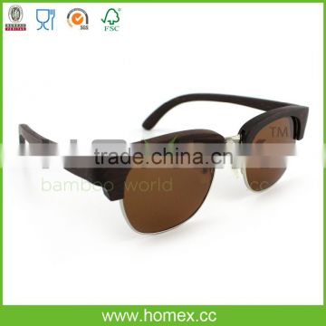 New Design Bamboo Glasses/Men and Women Sunglasses/Homex_FSC/BSCI Factory