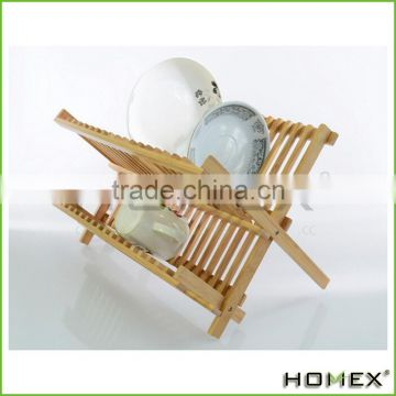 High Quality Bamboo Wooden Kitchen Plate Rack Dish Rack,Kitchenwares /Homex_Factory