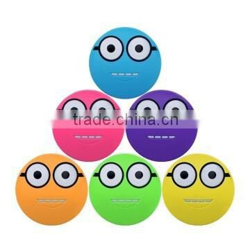 5600mAh Smiling face power bank Walmart supplier smart mobile power bank+manual