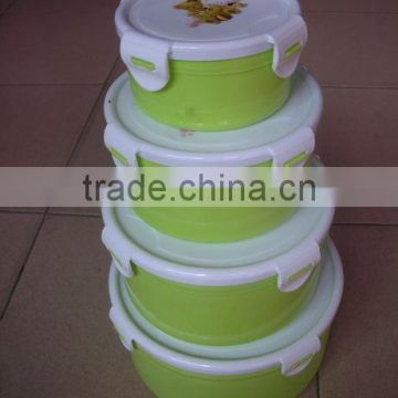 China plastic food storage container with best price