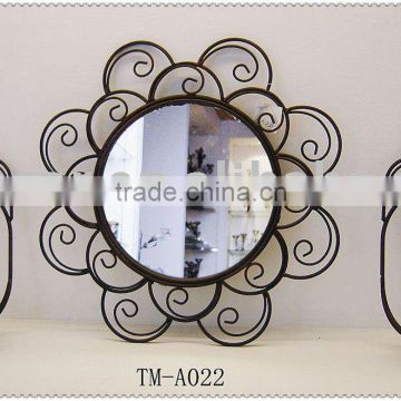 Metal Wall Mirror/Decorative set