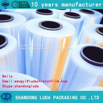 various transparent machine packaging Stretch film roll production process