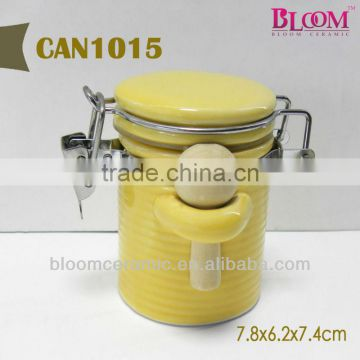 Colored storage jar for wholesale