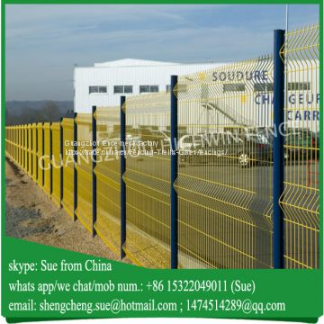 Garden used mesh fencing Curved fences Factory in China