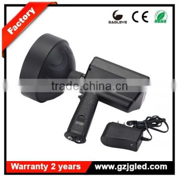 larger reflector 150mm 36w rechargeable portable spotlights