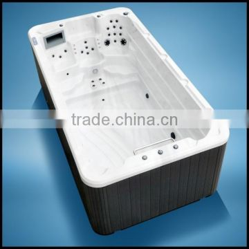 Portable Walk in Bathtub Swimspa Swimming Pool Wave Machine