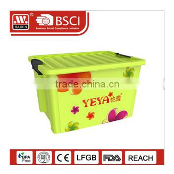 Storage containers with wheels and handle,storage bins,metal push cart