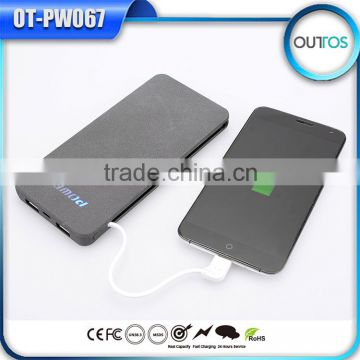 corporate gifts power bank 10000mah with inbuilt cable