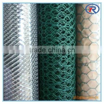 High Quality lowest price Galvanized Hexagonal Wire Mesh (Chicken Mesh) made in china