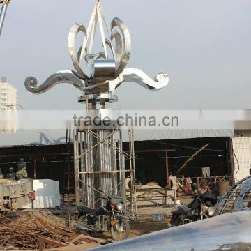 big size customized stainless steel sculpture