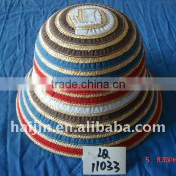 wheat straw hat