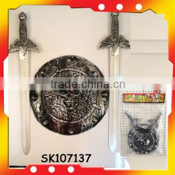 skull shield pirate sword toys for wholesale