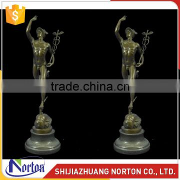 Interior decoration with nake characters bronze statue NTBH-009LI