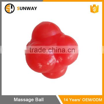 2016 Pu Foam Colourful Agility Reaction Ball
