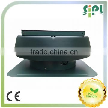 Waterproof brushless dc motor equipped all purpose ventilation solar roof air duct exhaust fan
