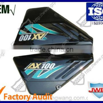 Racing Motorcycle Body Parts Plastic Side Cover Set AX100